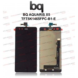 "CRISTAL+TACTIL+LCD MOVIL BQ AQUARIS X5 5"" NEGRA"