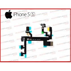 CABLE FLEX POWER ON/OFF+VOLUMEN+MUTE+FLASH IPHONE 5S