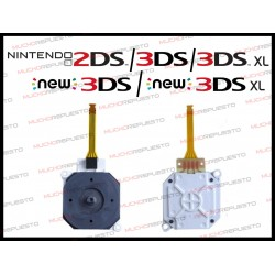 JOYSTICK ANALOGICO PARA NINTENDO 2DS-3DS-3DS XL-New3DS-New3DS XL
