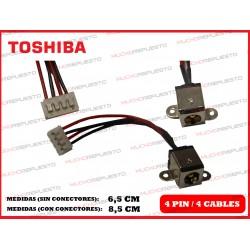 CONECTOR ALIMENTACION TOSHIBA Satellite L40 / L45 / Equium L40 / L45