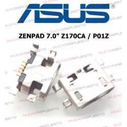 "CONECTOR MICROUSB TABLET ASUS ZenPad 7.0"" Z170CA / P01Z"