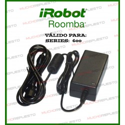 CARGADOR DE PARED ROOMBA 630, 631, 632, 650, 651, 660, 680, 681, 695