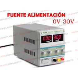 FUENTE ALIMENTACION TALLER 3005D AJUSTABLE 0-30V / 3A