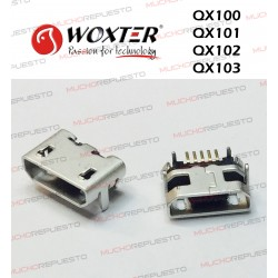 CONECTOR MICRO USB WOXTER...