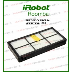 FILTRO AEROFORCE ASPIRADOR ROOMBA SERIES 800