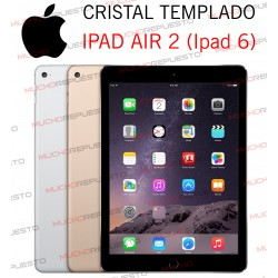 PROTECTOR CRISTAL TEMPLADO IPAD AIR 2 (A1566-A1567) (IPAD 6)