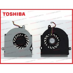 VENTILADOR TOSHIBA L350 / L350D / L355 / L355D