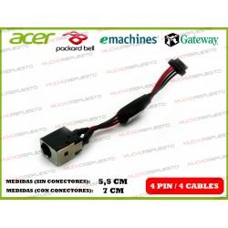 CONECTOR ALIMENTACION PACKARD BELL DOT S PAV80