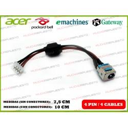CONECTOR ALIMENTACION EMACHINES E510 / EM-E510