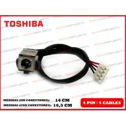 CONECTOR ALIMENTACION TOSHIBA Satellite L770 / L770D / L775 / L775D
