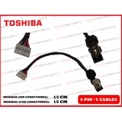 CONECTOR ALIMENTACION TOSHIBA Satellite C70 / C70D / C75 / C75D