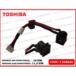 CONECTOR ALIMENTACION TOSHIBA Satellite L630 / L635 / L735 / Pro L630