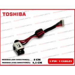 CONECTOR ALIMENTACION TOSHIBA Satellite C850 / C850D / C855 / C855D