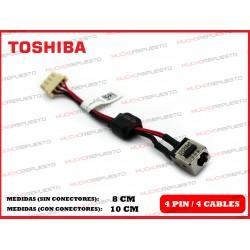 CONECTOR ALIMENTACION TOSHIBA Satellite L730 / L730D / L735 / L735D