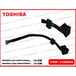 CONECTOR ALIMENTACION TOSHIBA Satellite A300 / A300D / A305 / A305D
