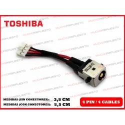CONECTOR ALIMENTACION TOSHIBA Portegé Z830 / Z835 / Z930 / Z935