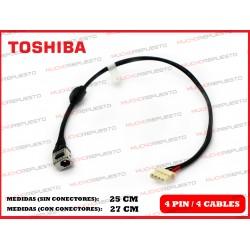 CONECTOR ALIMENTACION TOSHIBA Satellite L650 / L650D / L655 / L655D