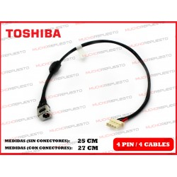 CONECTOR ALIMENTACION TOSHIBA Satellite L750 / L750D / L755 / L755D
