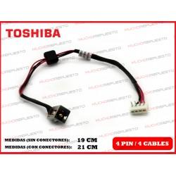 CONECTOR ALIMENTACION TOSHIBA Satellite A660 / A660D / A665 / A665D