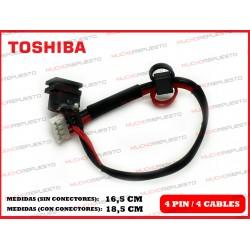CONECTOR ALIMENTACION TOSHIBA Satellite A85 / A100 / A105 / Tecra A7