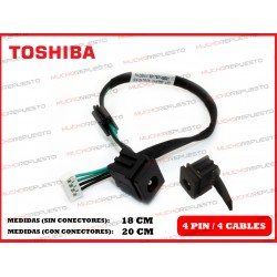 CONECTOR ALIMENTACION TOSHIBA Satellite A200 / A205 / A210 / A215 / A300