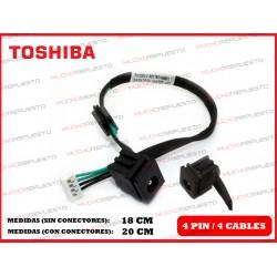 CONECTOR ALIMENTACION TOSHIBA Satellite L300 / L300D / L305