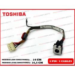 CONECTOR ALIMENTACION TOSHIBA Portege M800/M810/M820/M830/M850/M860/M8xx