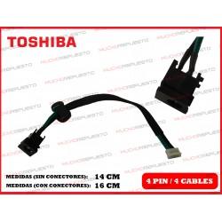 CONECTOR ALIMENTACION TOSHIBA Satellite C650 / C650D / C655 / C655D