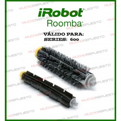 CEPILLO FLEXIBLE+CERDAS ROOMBA 600 / 700 SERIES