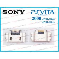 CONECTOR MICRO USB CARGA PSVITA 2000 - 2004