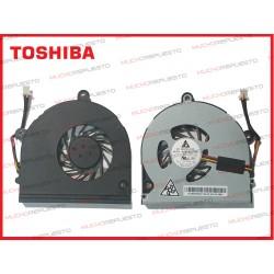 VENTILADOR TOSHIBA P770 / P770D / P775 / P775D (Modelo 1)