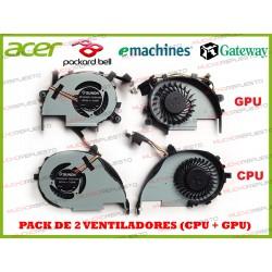 VENTILADORES ACER V7-582 /...
