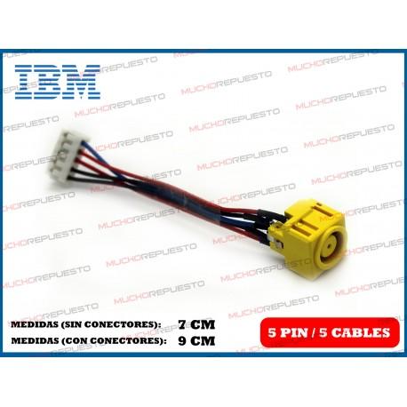 CONECTOR ALIMENTACION IBM R400 / R500 / R600