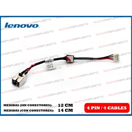 CONECTOR ALIMENTACION LENOVO P400 / P500