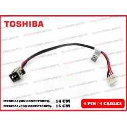 CONECTOR ALIMENTACION TOSHIBA Satellite L55-B/L55D-B/L55DT-B/L55T-B