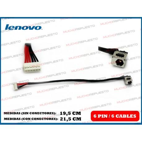 CONECTOR ALIMENTACION LENOVO B560 / V460
