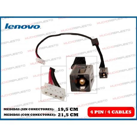 CONECTOR ALIMENTACION LENOVO G580 / G585