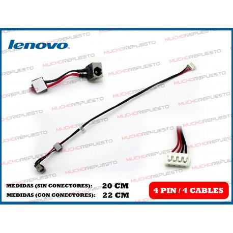 CONECTOR ALIMENTACION LENOVO G550 / G555 / G560 / G565