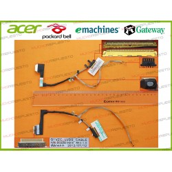 CABLE LCD ACER Chromebook C7 / C710 / C710-2457 / C710-2605 / C710-2847