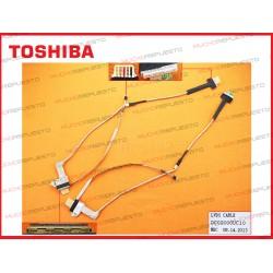 CABLE LCD TOSHIBA L500 / L500D / L505 / L505D (MODELOS PANTALLA LED)