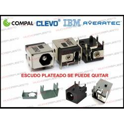 CONECTOR ALIMENTACION Airis Praxis N1204 / Compal / Clevo / Averatec