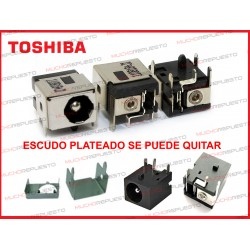 CONECTOR ALIMENTACION TOSHIBA Satellite 1000 / 1005 / 1200 / 3000 / 3005