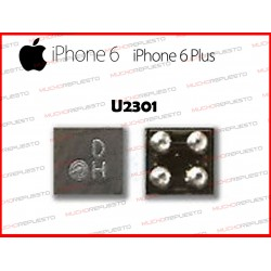 CHIP IC U2301 ALIMENTACION CAMARA 2.8V 4PIN IPHONE 6 / 6 PLUS