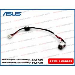 CONECTOR ALIMENTACION ASUS A53 / K43 / K53 / X43 / X53 Series