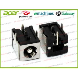 CONECTOR ALIMENTACION Gateway E-100 / E-155 / E-265 / E-295 / E-475
