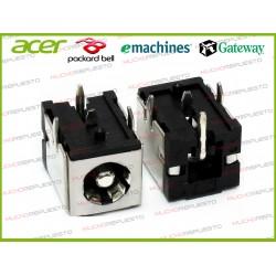 CONECTOR ALIMENTACION Gateway M210 / M250GS / M250G / M250ES / M250E