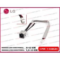 CONECTOR ALIMENTACION LGR51 / LGR57 / LGR58 / A410 / C40 / C400 (2)
