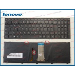 TECLADO LENOVO 500-15ACZ / 500-15ISK ILUMINADO (Modelo 1)