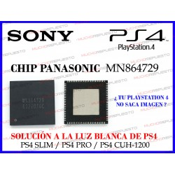 CHIP IC CONTROLADOR OUTPUT HDMI MN864729 PARA PS4