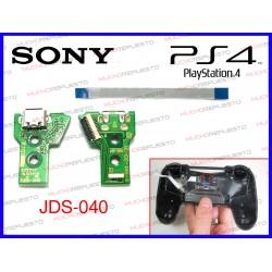 CONTROLADOR USB DE CARGA PS4 JDS-040 PLACA VERDE 4